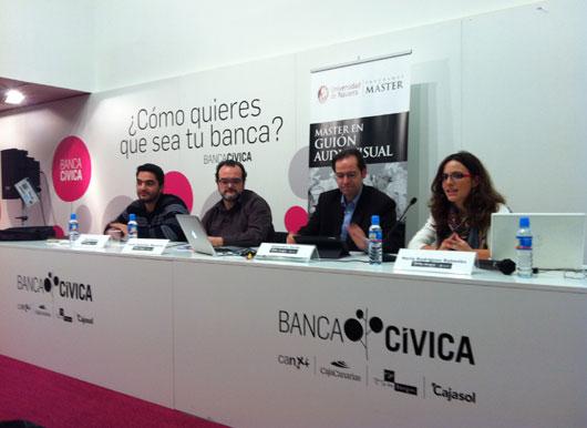 María Rodríguez Rabadán, José Mateo, Jordi Sánchez Navarro y Alejandro Pardo