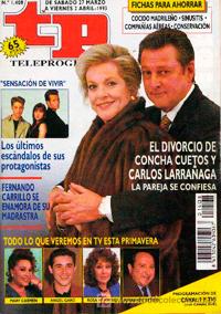 Farmacia de guardia, Concha Cuetos, Carlos Larrañaga, TP, Teleprograma, revista