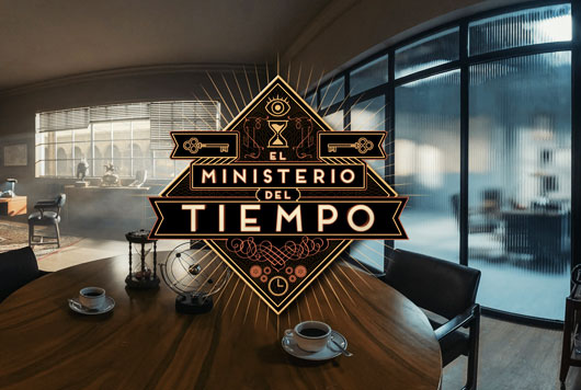 Despacho de Salvador en El Ministerio del Tiempo